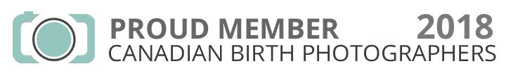 Proud Member of Canadian Birth Photographers